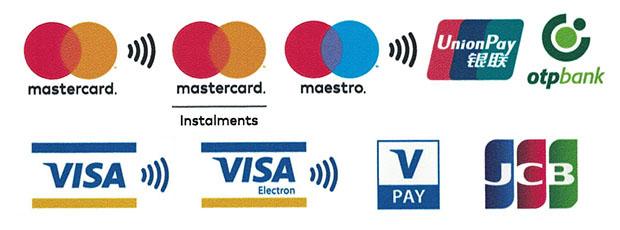 Üzletünkben bankkártyával is lehet fizetni.