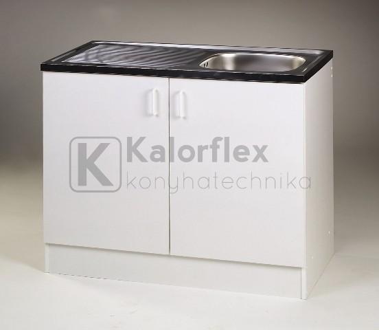 1000x500-as komplett 1 medencés nyílóajtós mosogatószekrény