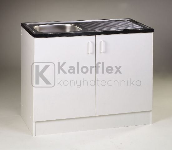 1000x600-as komplett 1 medencés nyílóajtós mosogatószekrény