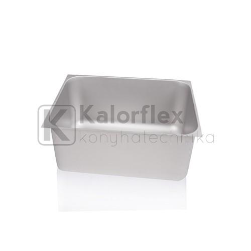 700x500x350 Rozsdamentes négyszögletes mosogatómedence, balos