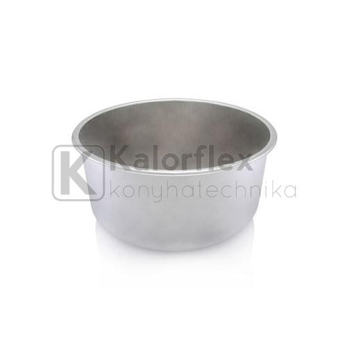 360x180 Rozsdamentes kerek mosogatómedence