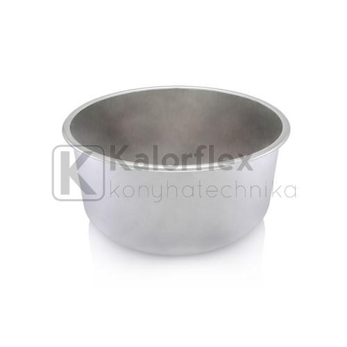 420x180 Rozsdamentes kerek mosogatómedence