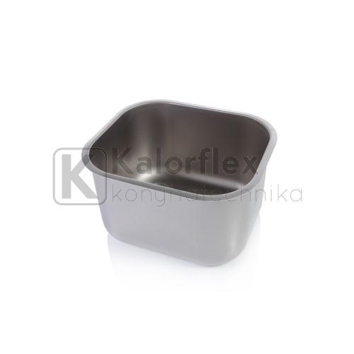 340x400x250 Rozsdamentes négyszögletes mosogatómedence, balos