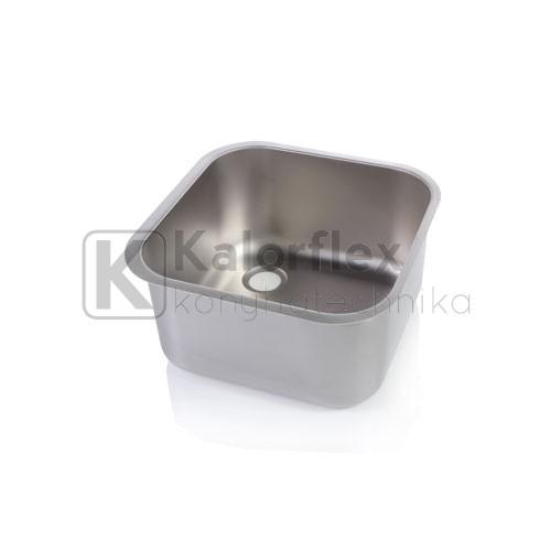 400x400x250 Rozsdamentes négyszögletes mosogatómedence