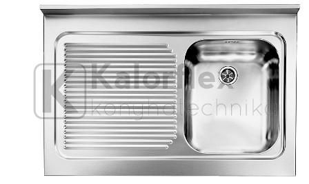 CM ROSSANA teletetős  Külméret: 900x600 mm, jobb oldali medencével