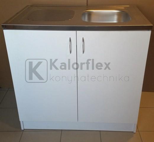 900x600-as komplett 1 medencés nyílóajtós mosogatószekrény