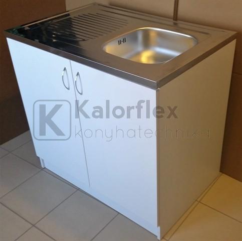 800x600-as komplett 1 medencés nyílóajtós mosogatószekrény