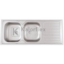 POUSAR Teletetős mosogató Méret: 1200x500 mm RODI