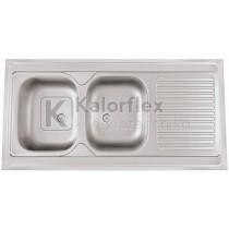 POUSAR Teletetős mosogató Méret: 1200x600 mm RODI
