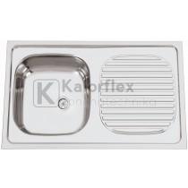 POUSAR Teletetős mosogató Méret: 800x500 mm RODI
