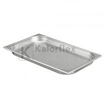 Gastronorm 1/1 perforált edény - Méret: 530x325x40 mm