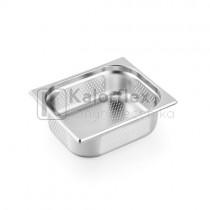 Gastronorm 1/2 perforált edény - Méret: 325x265x100 mm