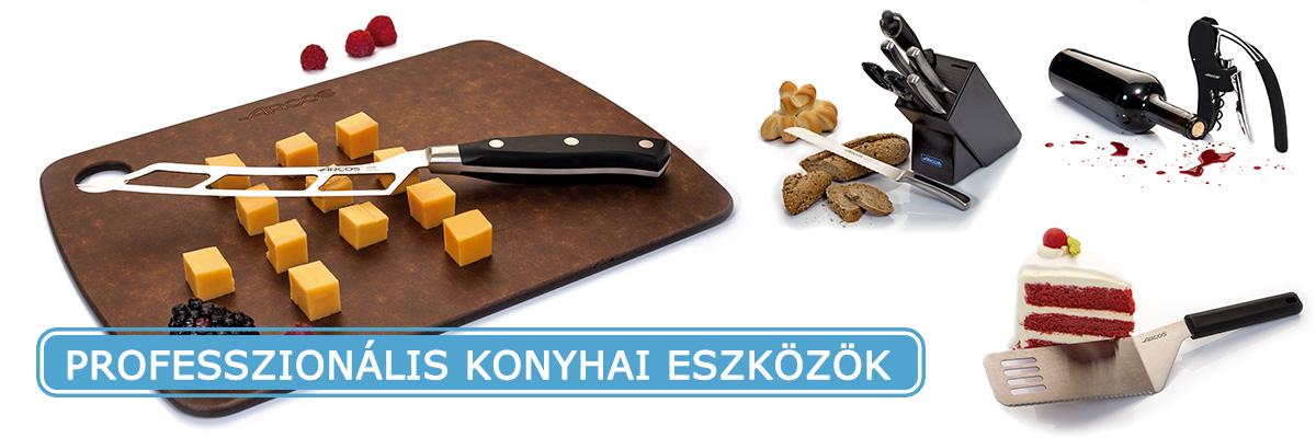 Professzionális konyhai eszközök