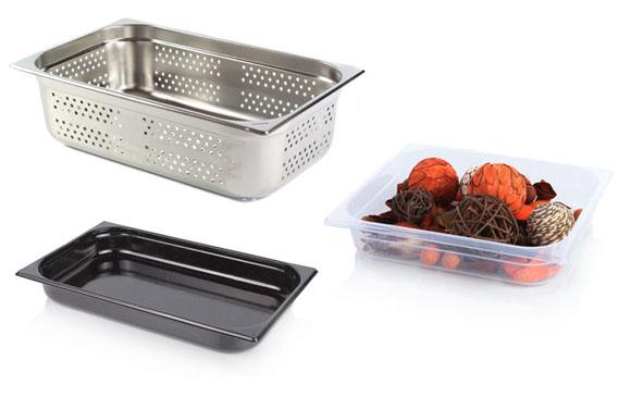 GN edények, GN dobozok, gastronorm edények, gastronorm dobozok
