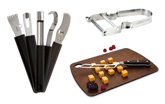hámozók, vágók, étel díszítő eszközök