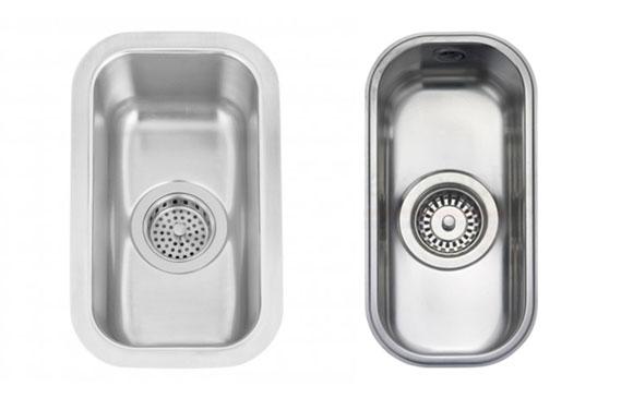 kis méretű mosogatómedencék